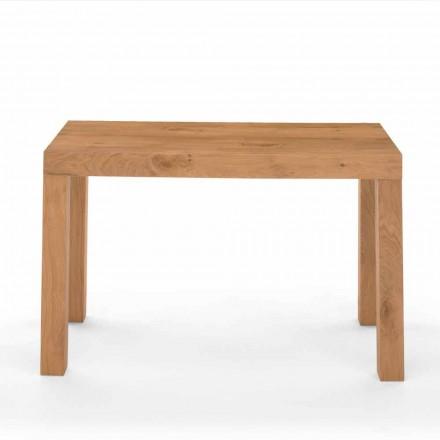 Ausziehbarer Konsolentisch aus furniertem Holz Made in Italy - Gordito