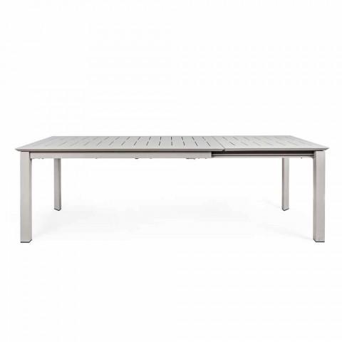 Ausziehbarer Tisch im Freien aus modernem Aluminium Homemotion - Casper