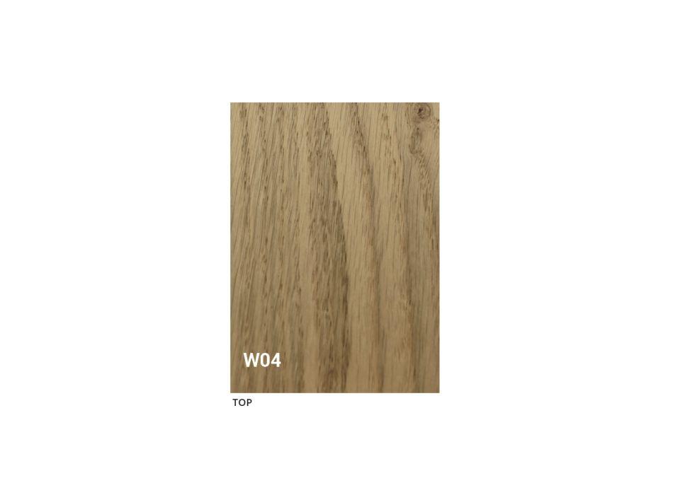 Ausziehbarer Esstisch Bis zu 280 cm aus Holz und Glas Made in Italy - Focus