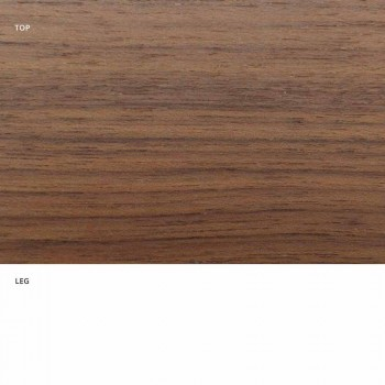 Ausziehbarer Esstisch Bis zu 170 cm aus Holz Made in Italy - Dollar
