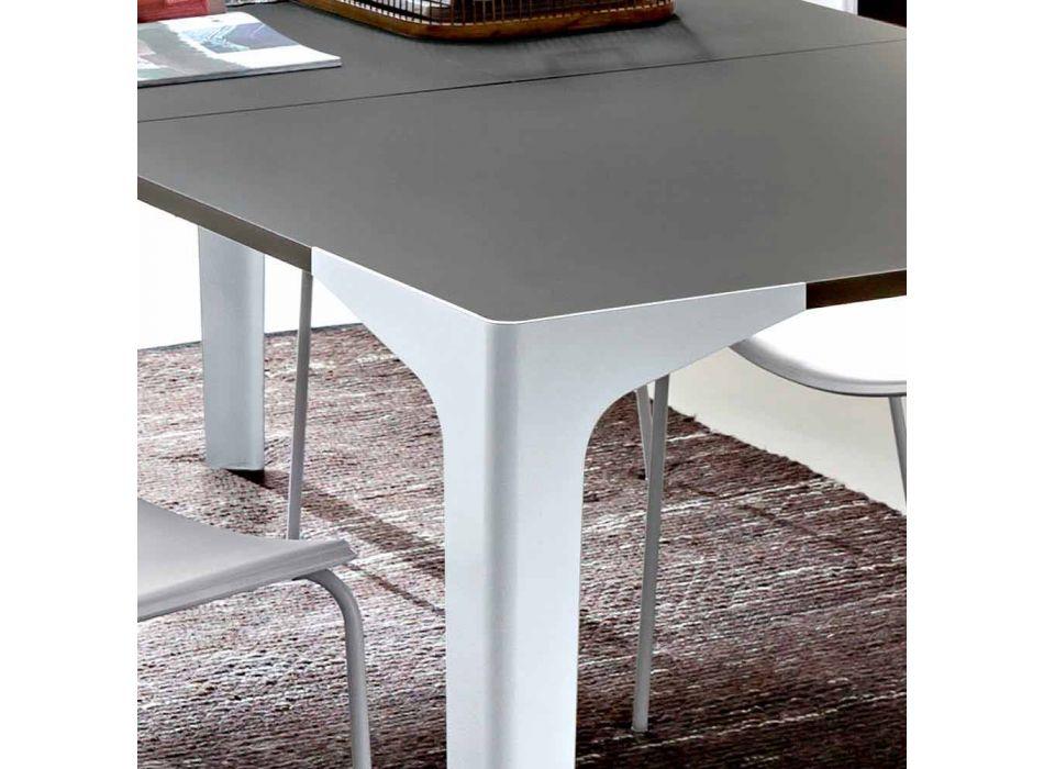 Ausziehbarer Esstisch Bis zu 222 cm in Fenix Made in Italy - Vulcano
