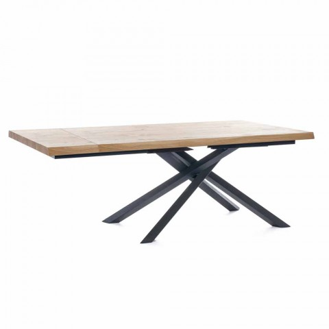 Ausziehbarer Esstisch Bis zu 240 cm aus Holz Made in Italy - Xino