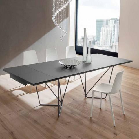 Ausziehbarer Esstisch Bis zu 280 cm in Fenix Made in Italy - Eolo