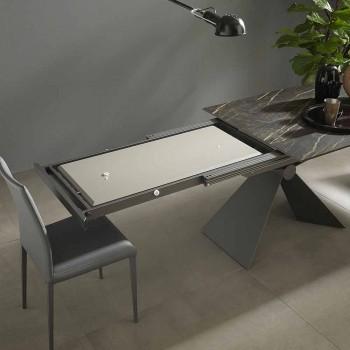 Ausziehbarer Esstisch Bis zu 298 cm aus Keramik Made in Italy - Anaconda