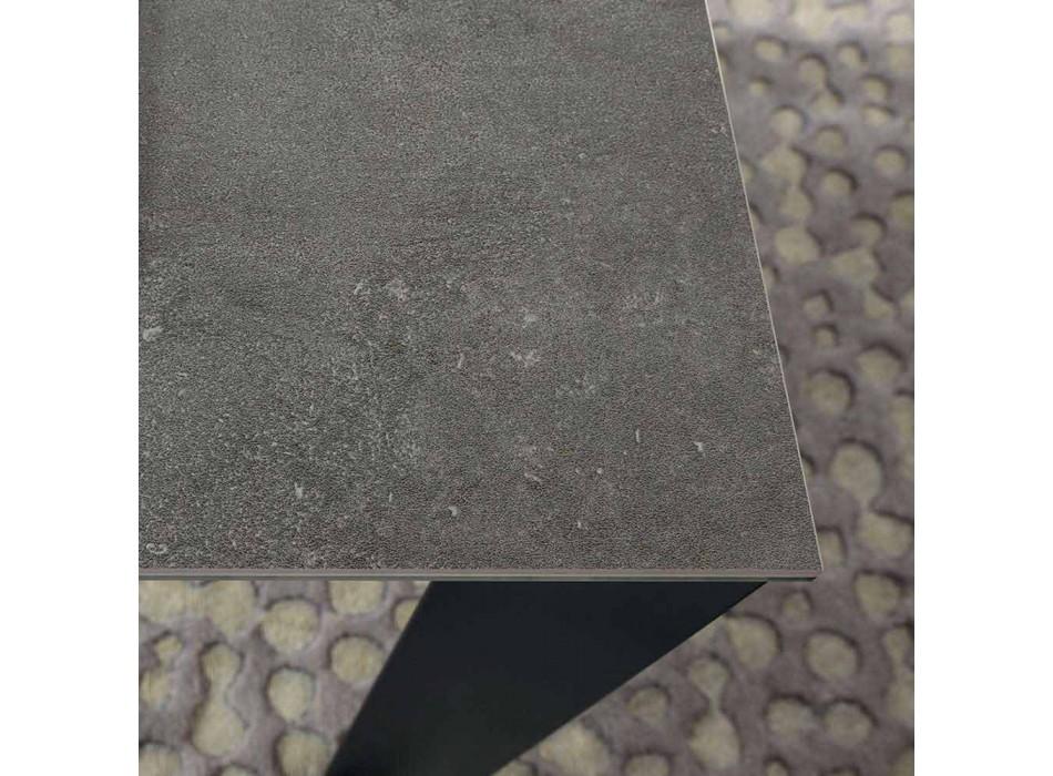 Ausziehbarer Esstisch Bis zu 310 cm in Keramik Made in Italy - Pitagora