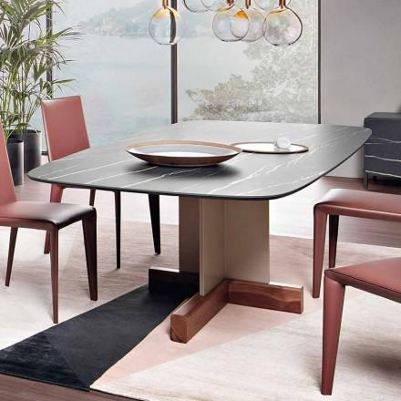 Esstisch mit Keramikplatte Made in Italy - Bonaldo Kreuztisch