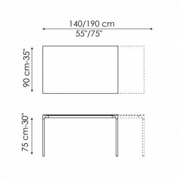 Ausziehbarer Esstisch Bis 265 cm Made in Italy - Bonaldo Zen