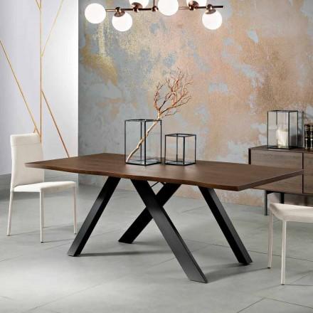 Design Massivholztisch made in Italy, Wilmer