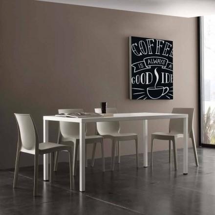 Tisch aus Stahl für Innen und Außen in modernem Design Ohio