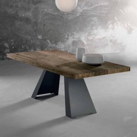 Design Massivholztisch made in Italy, Zerba