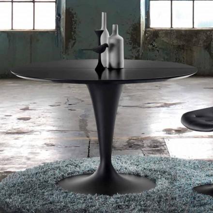 Runder Esstisch ausziehbar in modernem Design - Borgia