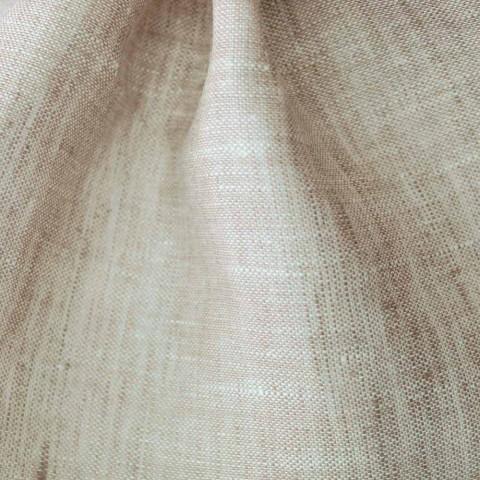 Badetuch in reiner Creme oder natürlichem weißem Leinen Made in Italy - Blessy