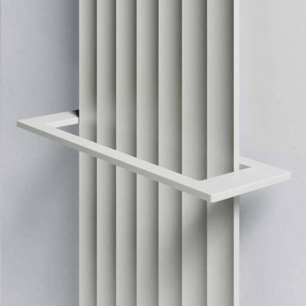 Elektrisches Wandheizkörperdesign in modernem Aluminium 1000 W - 100 Leitungen