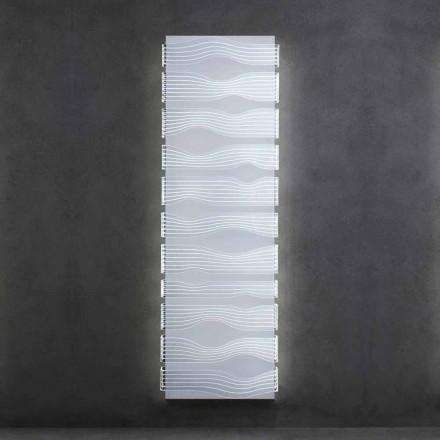 Design Elektrischer Heizkörper für Wohnzimmer oder Badezimmer mit 1000 W LED - Shine