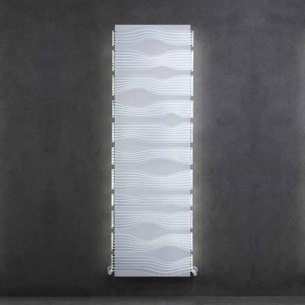 Design Hydraulikkühler für Wohnzimmer oder Badezimmer mit LED 839 W - Shine