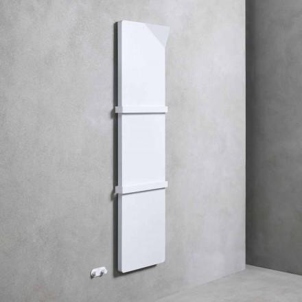 Vertikaler Kühler mit hydraulischem Design aus farbigem Aluminium bis 662 W - Buch