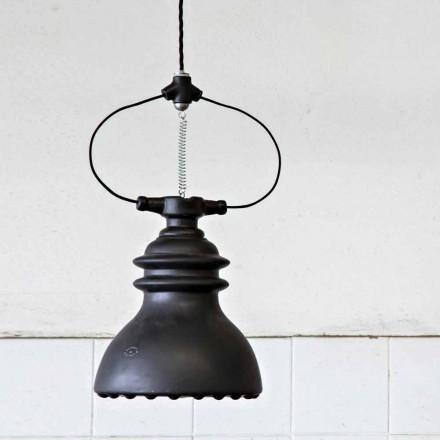 Toscot Battersea Pendelleuchte Glockenform aus Keramik