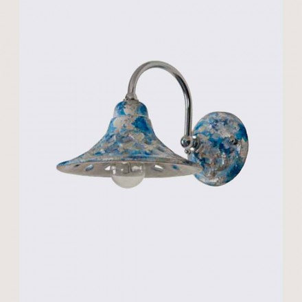 Toscot Bellagio Wandlampe mit Arm Made in Toscana