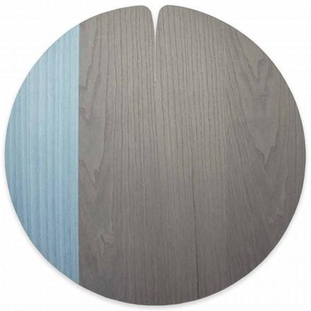 Modernes amerikanisches Tischset aus Echtholz Made in Italy, 4 Stück - Stan