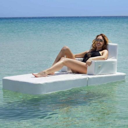 Trona Basic schwimmender Sessel für modernen Pool in Italien hergestellt