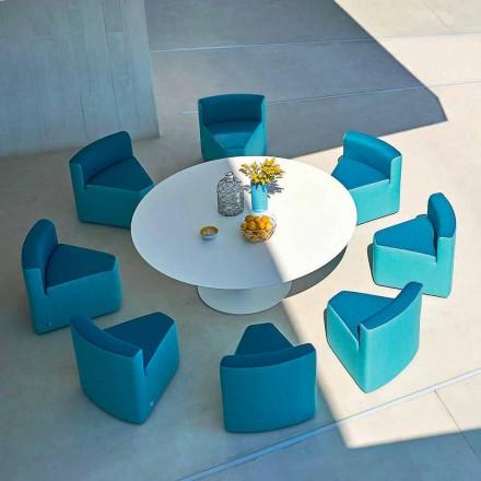 In&out Gartentisch + 8 Loungestühle Varaschin Big