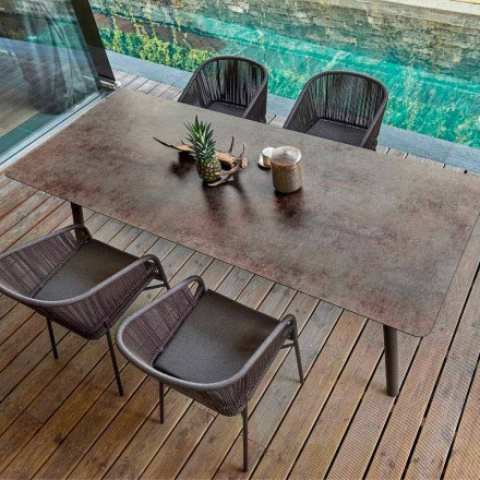 Varaschin Link Esstisch Indoor und Outdoor H65 cm
