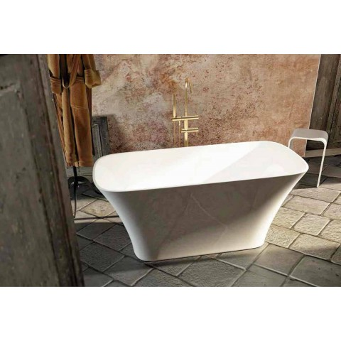 Freistehende Badewanne in modernem Design made in Italy Gallipoli