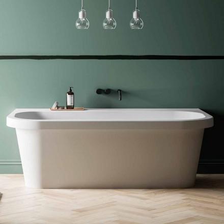 weiße Badewanne glänzend/matt Free Standing und Made in Italy - Margex