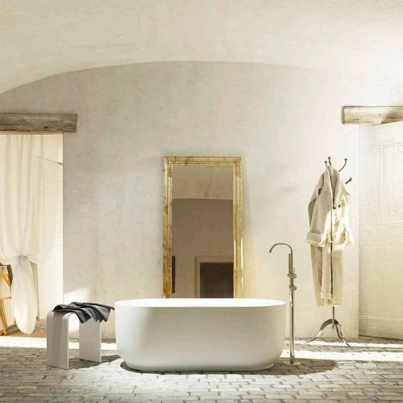 Freistehende Badewanne mit modernem Design, hergestellt in Italien Zollino