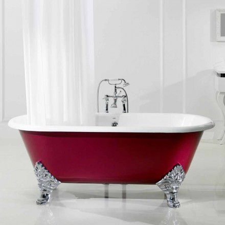 Badewanne freestanding in modernem Design Hall