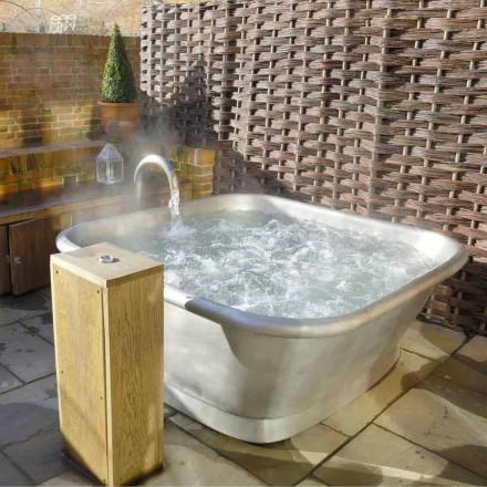 Badewanne freistehend aus Kupfer in modernem Design Annie