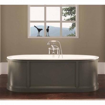Badewanne freistehend in modernem Design Ashley