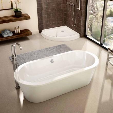 Moderne weiße freistehende Badewanne April 1800x830 mm