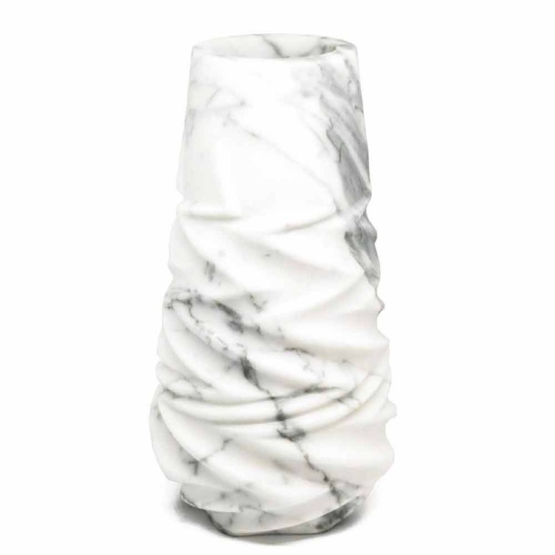 Arabesque Marble Design dekorative Vase Made in Italy - Brock