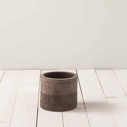 Handgearbeitete Außenvase aus Ton H 180 cm, Tirrenia - Toscot
