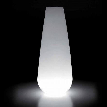 Leuchtvase für Outdoor-Design aus Polyethylen Made in Italy - Menea