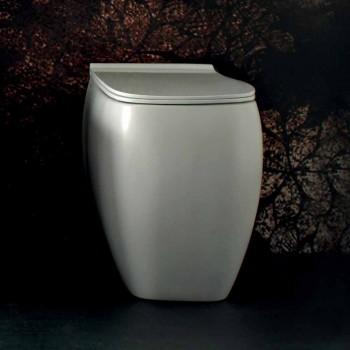 Weiße WC-Vase aus Keramik mit modernem Design Gais, made in Italy
