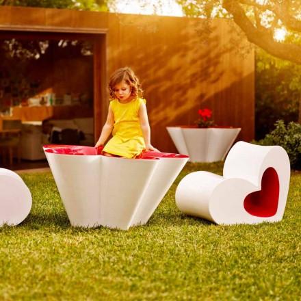 Vondom Agatha Blumenkasten für den Garten, farbiges Polyäthylen,Design