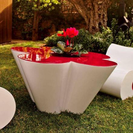 Vondom Agatha Tischchen für den Garten, farbiges Polyäthylen, Design