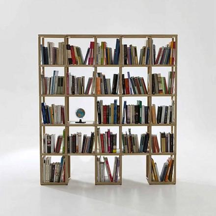 Bücherregal modular in modernem Design Zia Babele I Castelli 6