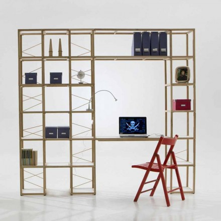 Bücherregal modular in modernem Design Zia Babele I Castelli 13