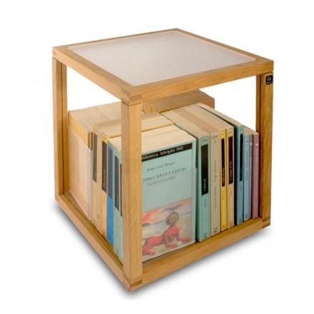 Bücherregal modular in modernem Design Zia Babele Le Trottole